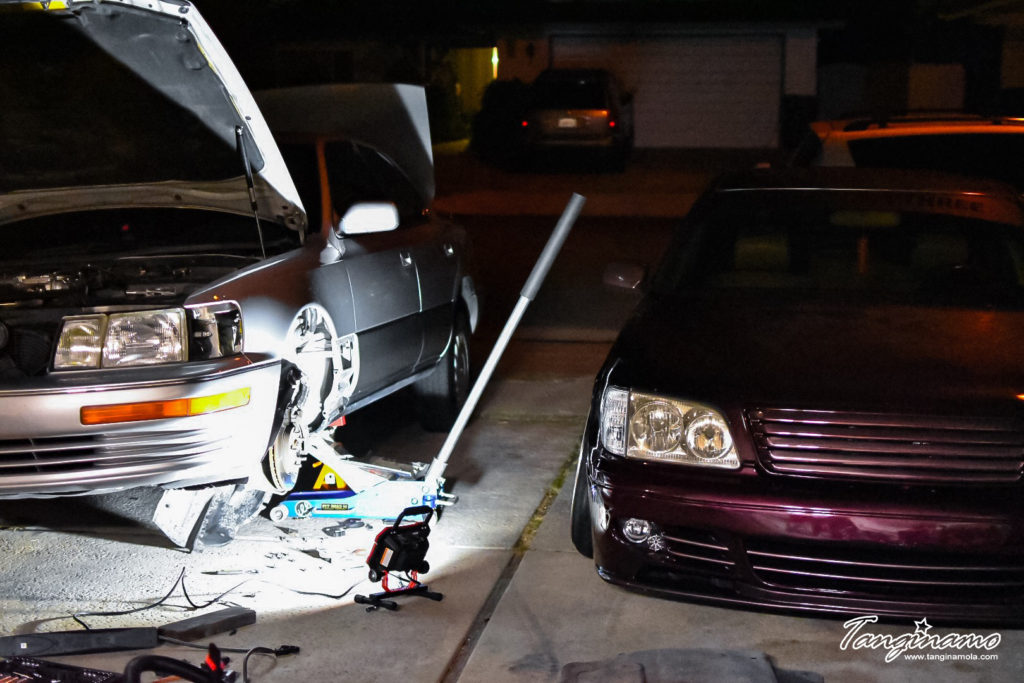 Jeff's new project and Monard's LS 400